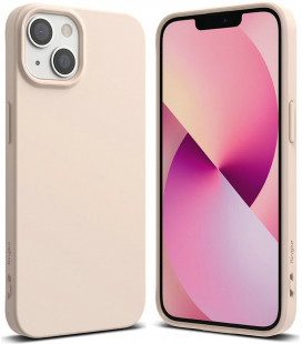 """Smėlio spalvos dėklas Apple iPhone 13 telefonui """"Ringke Air S"""""""