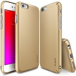 """Auksinės spalvos dėklas Apple iPhone 6/6s telefonui """"Ringke Slim"""""""