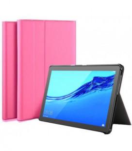 Dėklas Folio Cover Huawei MediaPad T3 10.0 rožinis