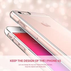 """Skaidrus silikoninis dėklas su blizgučiais Samsung Galaxy S7 telefonui """"Crystals"""""""