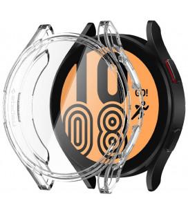 "Skaidrus dėklas Samsung Galaxy Watch 4 40mm laikrodžiui ""Spigen Ultra Hybrid"""