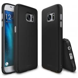 """Juodas silikoninis dėklas Samsung Galaxy J3 2016 Telefonui """"Glossy"""""""