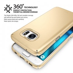 """Rausvai auksinės spalvos Apple iPhone 5/5s/SE silikoninis dėklas """"Glossy"""""""