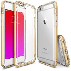 """Auksinės spalvos dėklas Apple iPhone 6/6s telefonui """"Ringke Frame"""""""