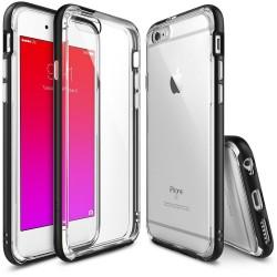 """Juodas dėklas Apple iPhone 6/6s telefonui """"Ringke Frame"""""""