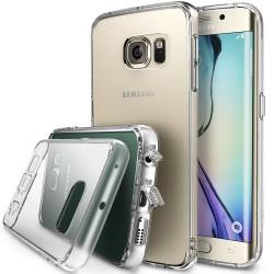 """Skaidrus dėklas Samsung Galaxy S6 Edge telefonui """"Ringke Fusion"""""""