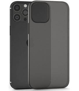 """Matinis juodas dėklas Apple iPhone 13 Pro Max telefonui """"Tech-Protect Ultraslim 0.4mm"""""""