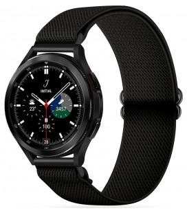 """Juoda apyrankė Samsung Galaxy Watch 4 40 / 42 / 44 / 46 mm laikrodžiui """"Tech-Protect Mellow"""""""