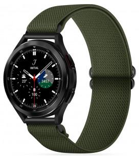 """Žalia apyrankė Samsung Galaxy Watch 4 40 / 42 / 44 / 46 mm laikrodžiui """"Tech-Protect Mellow"""""""