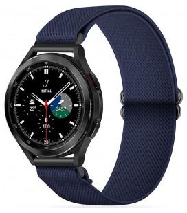 "Mėlyna apyrankė Samsung Galaxy Watch 4 40 / 42 / 44 / 46 mm laikrodžiui ""Tech-Protect Mellow"""