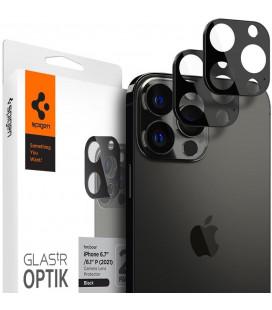 "Kameros apsauga Apple iPhone 13 Pro / 13 Pro Max telefono kamerai apsaugoti ""Spigen Optik.TR Camera Protector 2-Pack"""