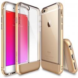 """Auksinės spalvos dėklas Apple iPhone 6/6s telefonui """"Ringke Fusion"""""""
