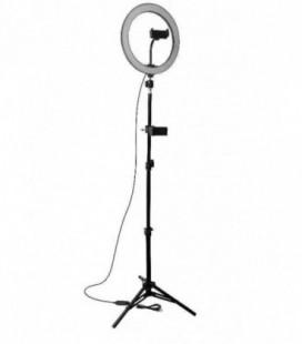 Telefono laikiklis Lamp tripod kit RL10-200 juodas 2.00m
