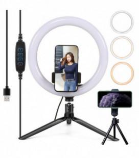 Telefono laikiklis Lamp tripod kit RL10-9 juodas 0.40m