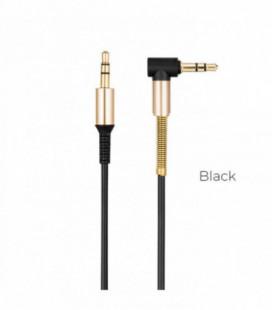 Audio adapteris Hoco UPA02 AUX 3,5mm į 3,5mm juodas