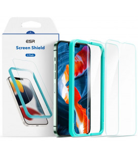 "Apsauginiai grūdinti stiklai Apple iPhone 13 Pro Max telefonui ""ESR Screen Shield 2-Pack"""