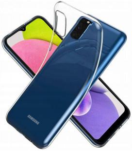 """Skaidrus dėklas Samsung Galaxy A03s telefonui """"Tech-Protect Flexair"""""""