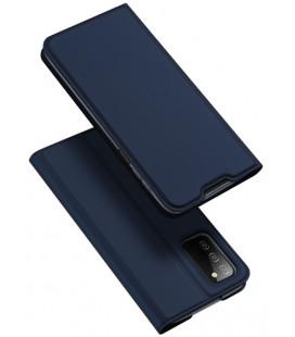 """Mėlynas atverčiamas dėklas Samsung Galaxy A03s telefonui """"Dux Ducis Skin Pro"""""""