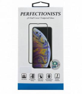 LCD apsauginis stikliukas 5D Perfectionists Samsung A505 A50/A507 A50s/A307 A30s / A305 A30 lenktas juodas