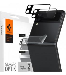 "Kameros apsauga Samsung Galaxy Z Filp 3 telefono kamerai apsaugoti ""Spigen Optik.TR Camera Lens & Hinge Film"""