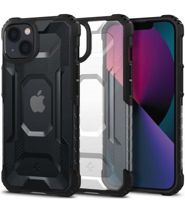 "Matinis juodas dėklas Apple iPhone 13 telefonui ""Spigen Nitro Force"""