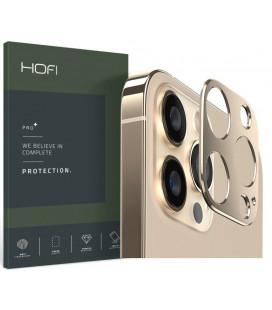 "Auksinės spalvos kameros apsauga Apple iPhone 13 Pro / 13 Pro Max telefonui ""Hofi Alucam Pro+"""