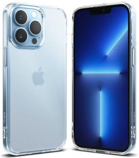 """Matinis skaidrus dėklas Apple iPhone 13 Pro telefonui """"Ringke Fusion"""""""
