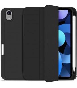 """Juodas atverčiamas dėklas Apple iPad Mini 6 2021 planšetei """"Tech-Protect SC Pen"""""""