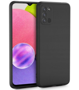 """Juodas dėklas Samsung Galaxy A03s telefonui """"Tech-protect Icon"""""""