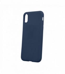 Dėklas Rubber TPU Samsung A03s tamsiai mėlynas
