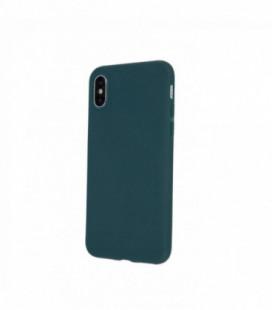 Dėklas Rubber TPU Samsung A03s tamsiai žalias