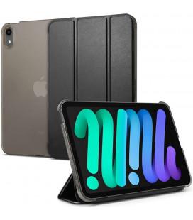 """Juodas atverčiamas dėklas Apple iPad Mini 6 2021 planšetei """"Spigen Smart Fold"""""""