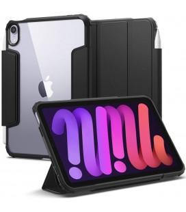 """Juodas atverčiamas dėklas Apple iPad Mini 6 2021 planšetei """"Spigen Ultra Hybrid Pro"""""""