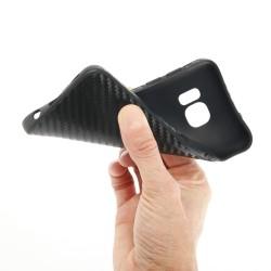 """Atverčiamas juodas dėklas Huawei Ascend P9 Telefonui """"Nillkin Sparkle S-View"""""""
