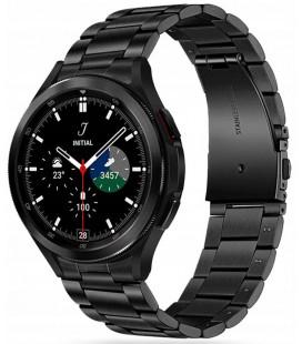 """Juoda apyrankė Samsung Galaxy Watch 4 40 / 42 / 44 / 46 mm laikrodžiui """"Tech-Protect Stainless"""""""