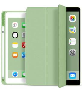 """Žalias atverčiamas dėklas Apple iPad 10.2 2019 / 2020 / 2021 planšetei """"Tech-Protect SC Pen"""""""