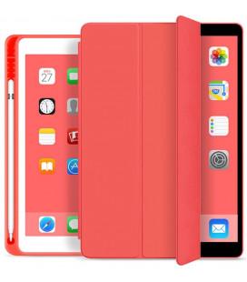 """Raudonas atverčiamas dėklas Apple iPad 10.2 2019 / 2020 / 2021 planšetei """"Tech-Protect SC Pen"""""""