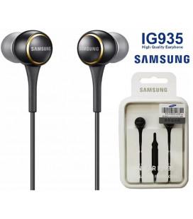 "Juodos originalios ausinės 3.5 mm ""EO-IG935BBE Samsung"""