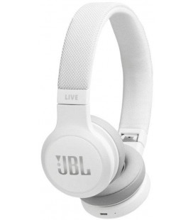 """Baltos belaidės ausinės """"JBL Live 400BT Bluetooth"""""""