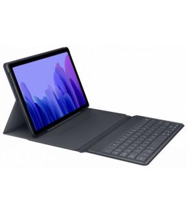 """Originalus pilkas atverčiamas dėklas su klaviatūra Samsung Galaxy Tab A7 T500/T505 planšetei """"EF-DT500UJE"""""""