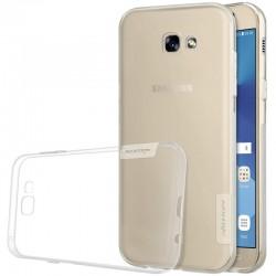 "Skaidrus silikoninis dėklas Samsung Galaxy A3 2017 A320F telefonui ""Nillkin Nature"""