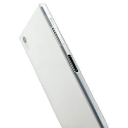 Skaidrus plonas 0,3mm silikoninis dėklas Sony Xperia Z1 telefonui