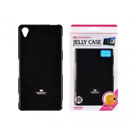 "Juodas dėklas Mercury Goospery ""Jelly Case"" Sony Xperia Z3 telefonui"
