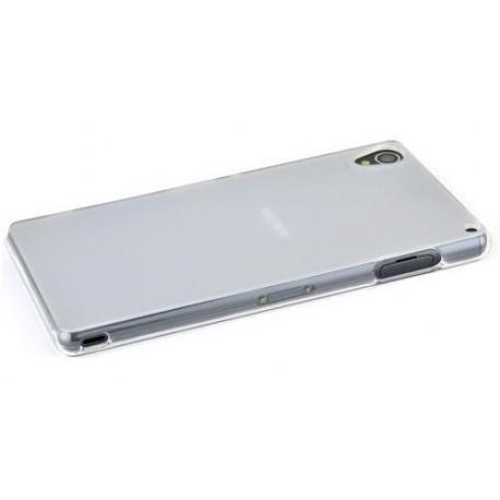 Skaidrus plonas 0,3mm silikoninis dėklas Sony Xperia Z3 telefonui