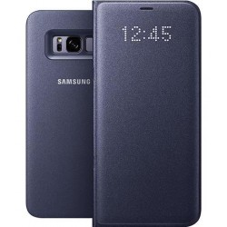 "Originalus violetinis dėklas ""LED View Cover"" Samsung Galaxy S8+ telefonui ef-ng955pve"