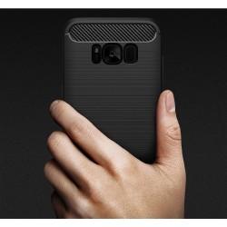 """Odinis juodas atverčiamas dėklas Samsung Galaxy S6 telefonui """"Nillkin Qin"""""""