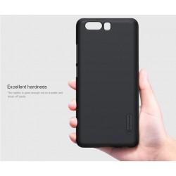 """Odinis rudas atverčiamas dėklas Samsung Galaxy S6 telefonui """"Nillkin Qin"""""""
