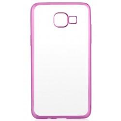 """Rožinis silikoninis dėklas Samsung Galaxy A5 2017 A520 telefonui """"Glossy"""""""