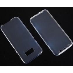 """Skaidrus silikoninis dėklas Samsung Galaxy S8+ telefonui """"Fitty Double"""""""