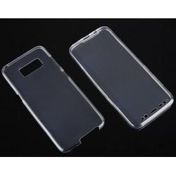"""Atverčiamas Apple iPhone 5/5s/SE juodas-mėlynas """"Flip Case Double"""" dėklas"""